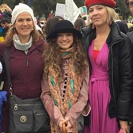 Samantha Shackelford at Women's March