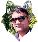 Anurag Kukrati's Photo clipped in a wolf vector