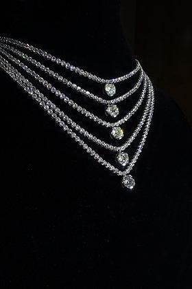 7.1 Carat 18K750 Diamond Necklace