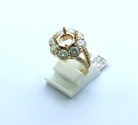 18K Gold Eangagment Ring