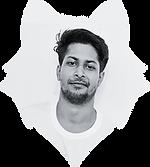 Kumar Rakshit's Photo clipped in a wolf vector