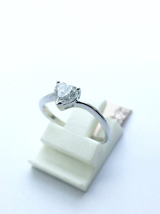0.80 Carat Heart Shape Diamond Ring