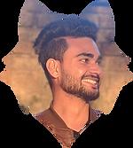 Atul Kumar Bokhandi's Photo clipped in a wolf vector