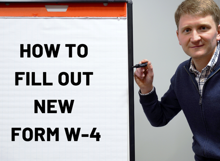 How To Fill Out Your Form W-4
