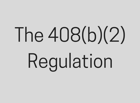 Complying With the 408(b)(2) Regulation