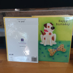 Birthday card £1.50