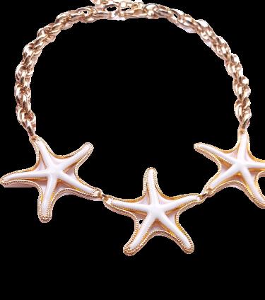 Colar Estrela do Mar Branca