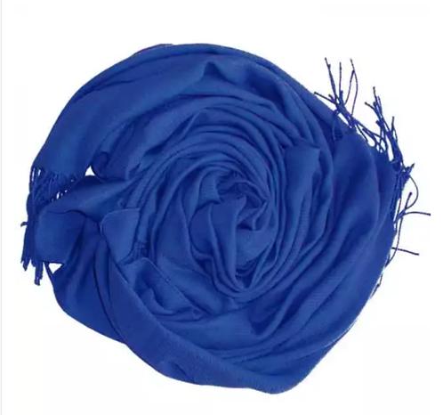 Pashimina Italiana Azul Royal