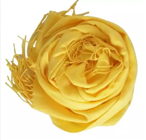 Pashimina Italiana Amarelo Prada