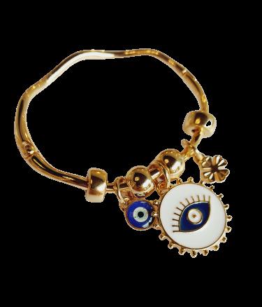 Pulseira/ Bracelete Olho Grego