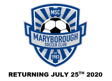 July 25th Set for Soccer Return