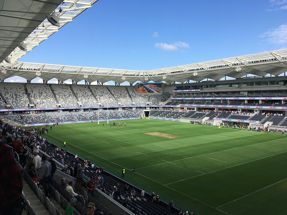 View inside Bankwest stadium
