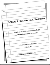Bullying and Students with Disabilities.