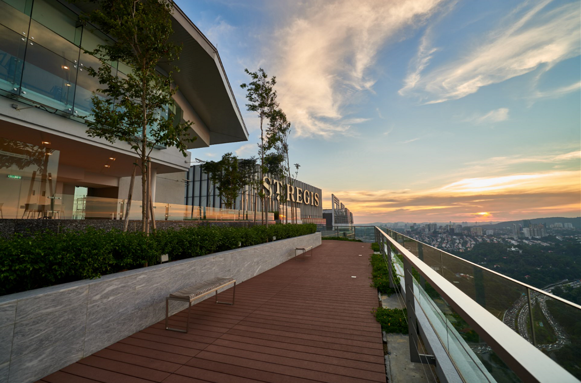 Viewing Deck @ Level 55