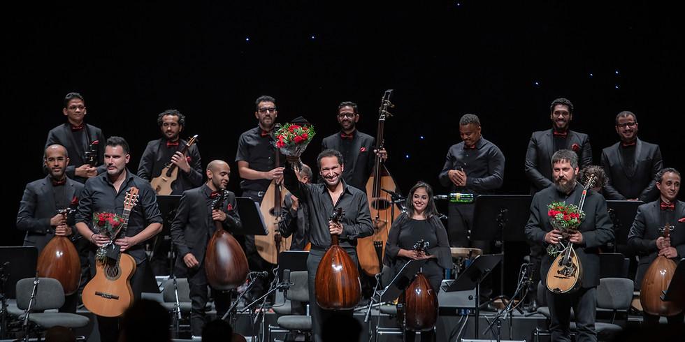 Naseer Shamma & the 2350BC Orchestra in Abu Dhabi, UAE