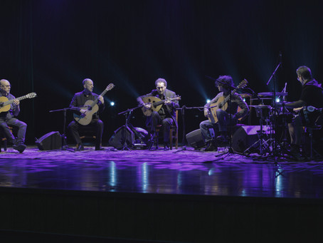 NASEER SHAMMA & BARCELONA GUITAR TRIO for the first time at PIERRE BOULEZ SAAL