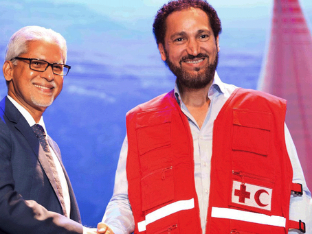 Naseer Shamma, IFRC Goodwill Ambassador for the Middle East