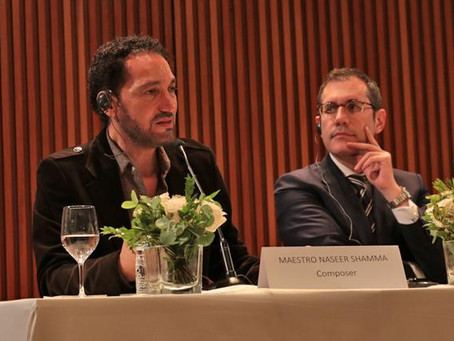 The concert by Naseer Shamma inagurates the agreement between the Liceu and Abu Dhabi Festival