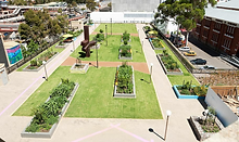 Perth Cultural Centre Landscaping
