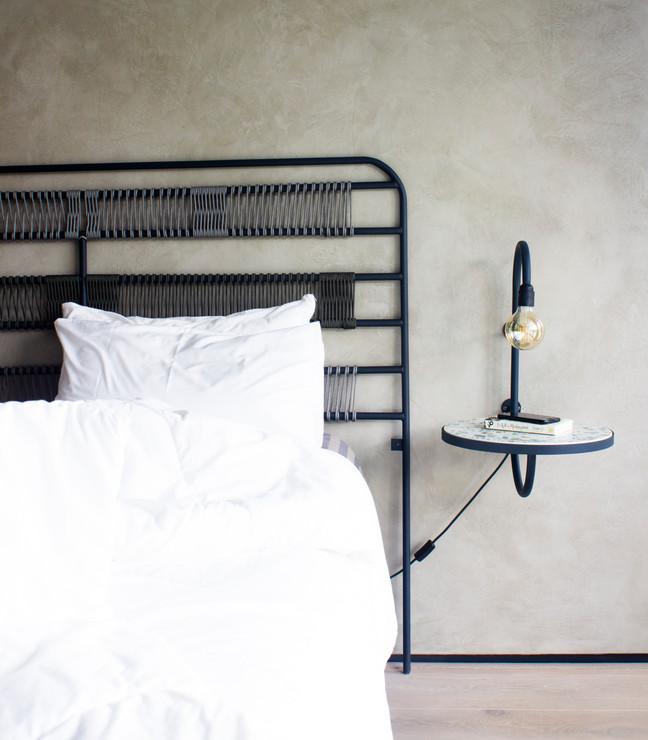 Makeba wall-bedside table