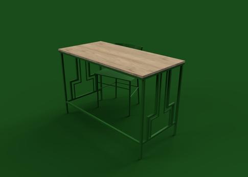 Wangari Desk Simple