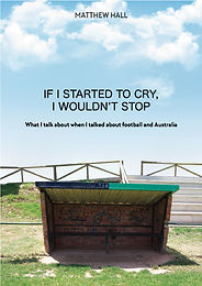 'If I started to cry, I wouldn't stop'