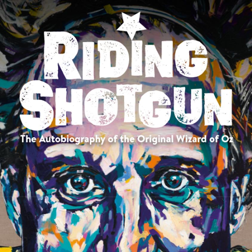 'Riding Shotgun' - Meet the Author