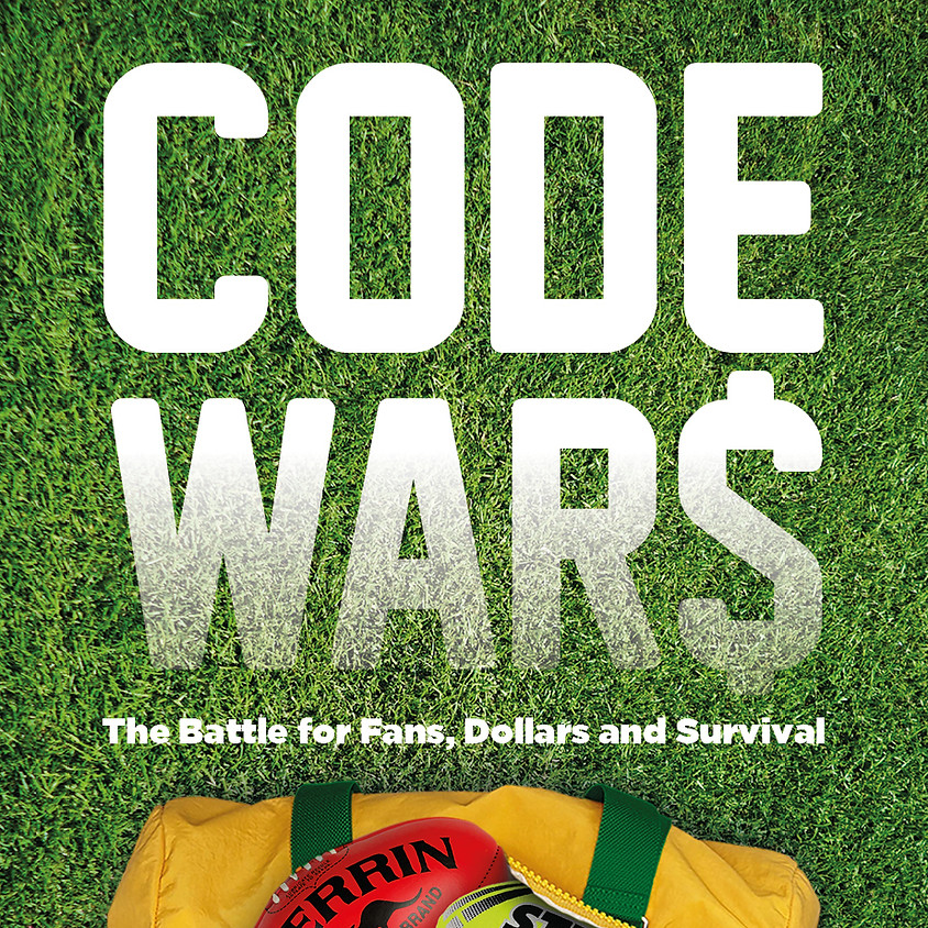 Launch of 'Code Wars - the Battle for Fans, Dollars and Survival'