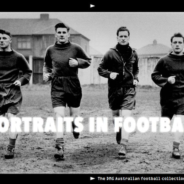 Portraits in Football Photographic Exhibition