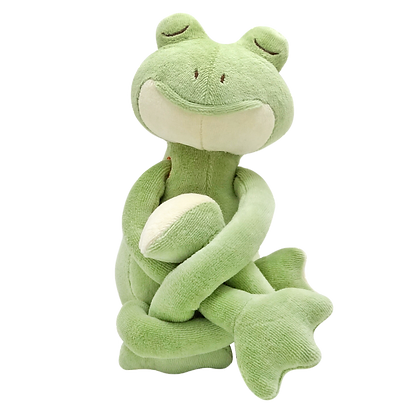 MiYim Yogatale Organic Cotton Toy - Frog