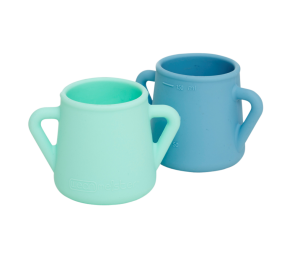 Wean Meister Sippy Skillz Baby Cup - 2 Pack