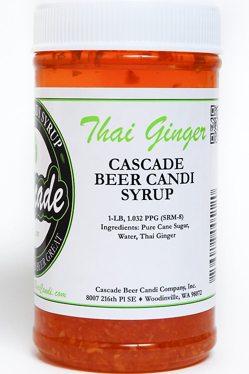 Thai Ginger Candi Syrup