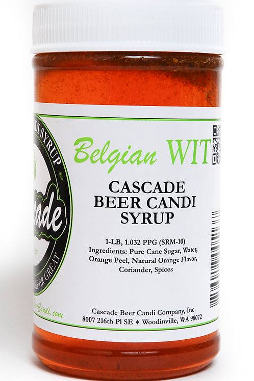 Belgian Wit Candi Syrup