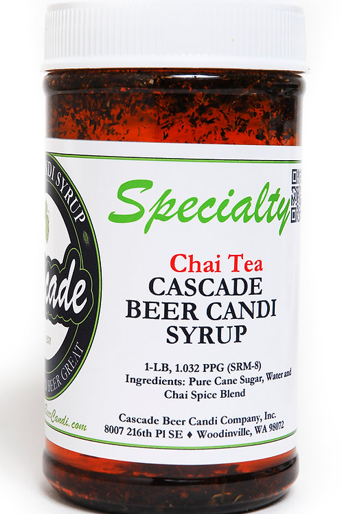 Chai Spiced Cascade Beer Candi Syrup