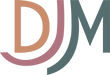 "Logo that reads ""DJM"""