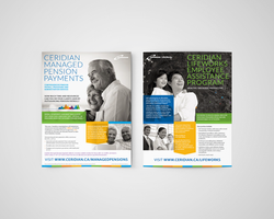 Editorial ads for Ceridian Canada