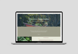 Website for Who Does Your Garden