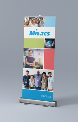 Pop-up Banner designed for Mitacs