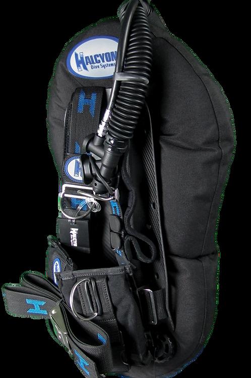 Halcyon Adventure Pro Carbon Fiber Back Plate & Wing