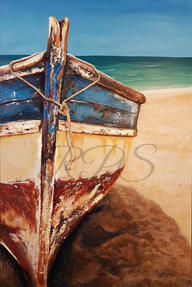 Old Wooden Boat by Alana Holst