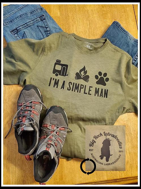 Men's Simple Man T-shirt