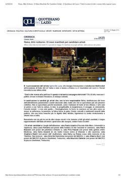 Quotidiano del Lazio
