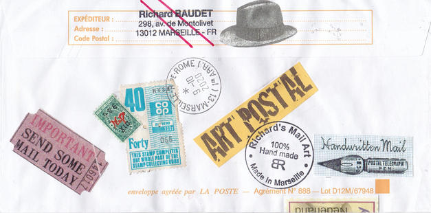 Mail Art by Richard Baudet