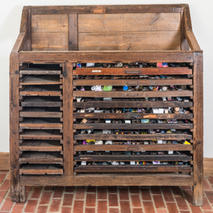 Letter Press Drawers