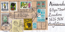 Mail Art by Richard Baudent