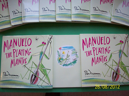 Manuelo, The Playing Mantis, used