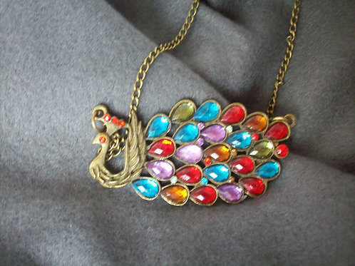 C-Peacock Necklace