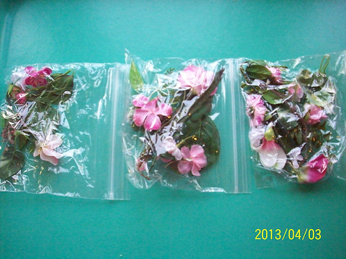 Orchid flower pack medium containers