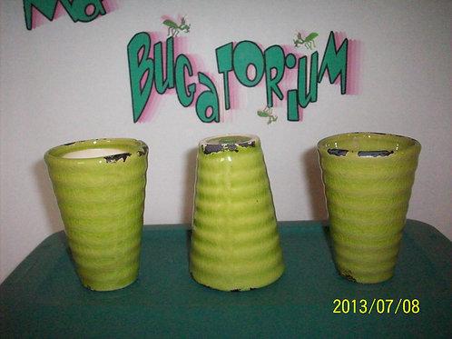Vase, Green pottery vase (1)