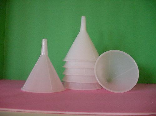 1-Graduated Cylinder, bottle brush & funnel
